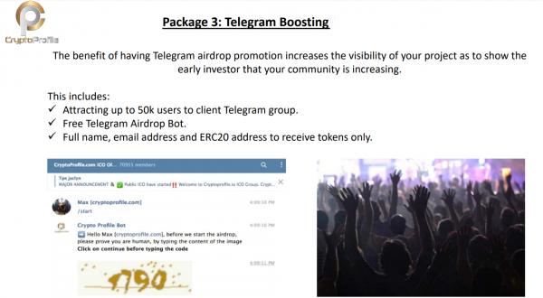Telegram Boosting